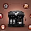 Donlim/东菱 DL-KF7001意式美式咖啡机家用商用全自动蒸汽奶泡