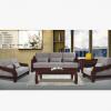 批发布艺沙发组合 橡木客厅欧式沙发 大户型实木沙发家具定制