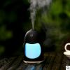 USB迷你加湿器 七彩 企鹅加湿器 炫彩 七彩加湿器家用车载