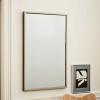 包邮北欧团购黄铜个性浴室卫浴镜定制洗手间壁挂全身 穿衣 服装镜