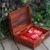 批发大红酸枝木质雕花收纳盒实用家居用品盒古典中式实木手饰盒