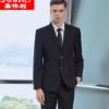 嘉伟利2017新款男士西服套装韩版修身职业大学生正装商务结婚西装