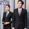 男女同款 黑色男式商务西装男士西服外套韩版工作服男修身男西服