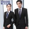 男女同款2017新女士西服套装韩版修身职业工作服正装商务白领西装