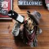 创意树脂工艺品人头挂饰 复古酒吧酒店家居墙面装饰品挂件壁饰