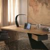 新品上市 美式工业复古做旧家具铁艺实木书桌电脑桌老板办公桌