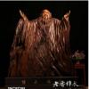 金丝楠大型原木根雕人物老子酒店大堂根雕艺术品摆件