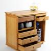 城匠移动茶车竹制茶盘家用简约自动上水电磁炉茶具套装小茶桌批发