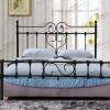 欧式简约结实稳固铁架床1.2米卧室公寓酒店时尚铁艺双人床架1.5米