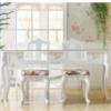 聚乐 白色烤漆美甲桌 单人双人三人修甲台 欧式 美甲店桌椅 特价