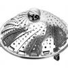 直销不锈钢伸缩蒸笼 多功能伸缩蒸篮 不锈钢水果篮 可伸缩折叠篮