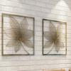 美式简约铁艺壁饰餐厅客厅壁挂办公室酒店咖啡厅墙饰创意立体装饰