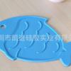 环保隔热鲤鱼造型硅胶锅垫耐高温硅胶隔热垫易清洗防滑耐磨硅胶垫