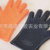 凸点防滑五指手套硅胶耐高温手套硅胶隔热手套