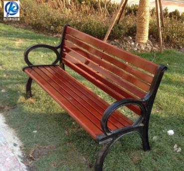 【公园椅】户外实木休闲长凳等候椅厂家直销可定制靠背公园椅