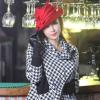 欧美时尚流行女士礼帽潮流百搭大檐毡帽女秋冬纯羊毛毡帽ZM-0034