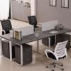 厂家 定做学校办公家具 经理办公桌 上腾家具办公桌定做