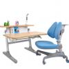 学生写字桌椅套装 儿童学习桌椅升降学生凳子升降 儿童书桌 实木