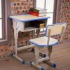 中小学生课桌椅厂家直销加厚学校课桌培训辅导班补习升降写字桌