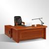 胡桃油漆大班台大气办公家具老板桌总裁桌经理办公桌 厂家可定制