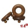 【博森】越南香木 香木三点圆形按摩器/木制 头部腹部按摩 批发