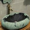 创意中式浴室柜简约现代卫浴柜洗手盆卫生间阳台洗漱台上盆组合柜
