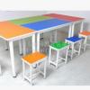 阅览桌洽谈桌六角形桌多人电脑桌波浪形桌