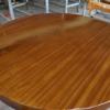 吉福-圆形餐桌 100cm整木圆形现代简约餐桌 定制各种规格款式餐桌