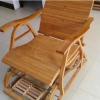 供应按摩躺椅夏季晒太阳竹制折叠椅冬夏按摩躺椅