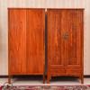 中式实木衣柜家用简易两门衣柜多功能储物柜卧室家具抽屉式收纳柜