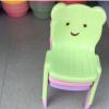 批发塑料儿童靠背椅 幼儿园专用塑料猫头凳子 家用客厅宝宝板凳