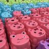 儿童卡通塑料凳子 宝宝小板凳 创意动物造型凳子 2元店货源
