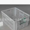 520*360*282高密度低压聚乙烯周转筐青岛浩天隆仓储设备有限公司