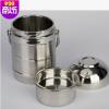 碗盖大容量多层保温饭盒 超长保温 便携3层提锅不锈钢真空保温桶