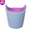 创意家居塑料脏衣篮 大号双耳脏衣篓 多功能透气环保杂物收纳篮