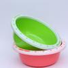 现货供应 圆形塑料盆 加厚耐用家用塑料盆 批发促销脸盆 洗衣盆