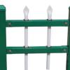 供应小区锌钢护栏 静电涂喷方管栅栏 外墙院子栏杆厂家直销