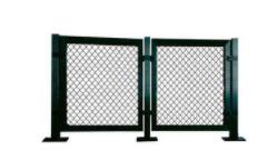供应篮球场围网体育场护栏网学校操场浸塑勾花网 规格齐全定制