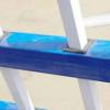 厂家直销爆款现货锌钢围墙围栏量大从优白蓝色1.5米高铁艺栏杆