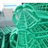 【双圈护栏网】美观压花丝上下圈护栏网 公园专用白色卷圈护栏网