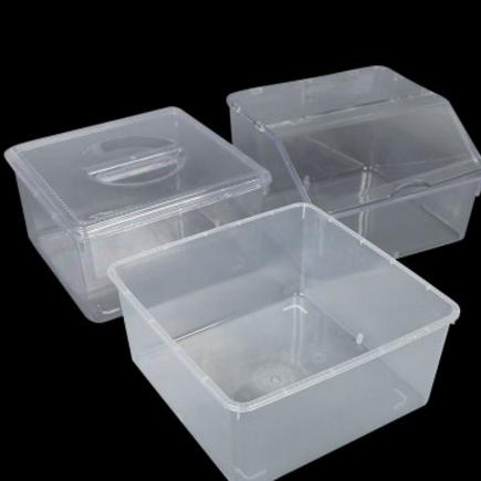 厂家直销食品级 超市陈列盒 超市盒 翻盖陈列盒 糖果盒 货架专用