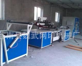生产供应 全自动单色无纺布丝网印刷机 大幅印刷丝印机