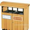 济南天桥城艺园艺制品厂批量定制防腐垃圾箱、铁艺垃圾箱、垃圾桶