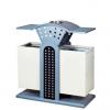 创意户外垃圾桶 不锈钢垃圾桶环卫果皮箱 分类方形垃圾箱批发定制