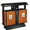 果皮箱户外垃圾桶生产厂家环卫分类公园室外果皮箱双桶