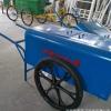 手推式环卫垃圾车市政室内清扫街道人力双轮铁板钢板移动桶箱两轮