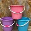 厂家直销塑料手提把圆形小水桶塑料钓鱼桶多功能水桶加厚家用水桶