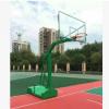 篮球架生产厂家直销 凹箱独臂室外篮球架 标准比赛用篮球架