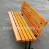 厂家现货批发广场休息椅塑木休闲座椅实木铸铁长条椅塑钢公园椅