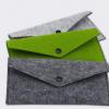 厂家直销 韩版手机包 毛毡制品手机包.零钱包 可定制 加印LOGO